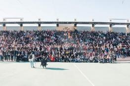 جامعة بيرزيت تعلق على صورة جماعية للطلبة المعتصمين داخل الجامعة