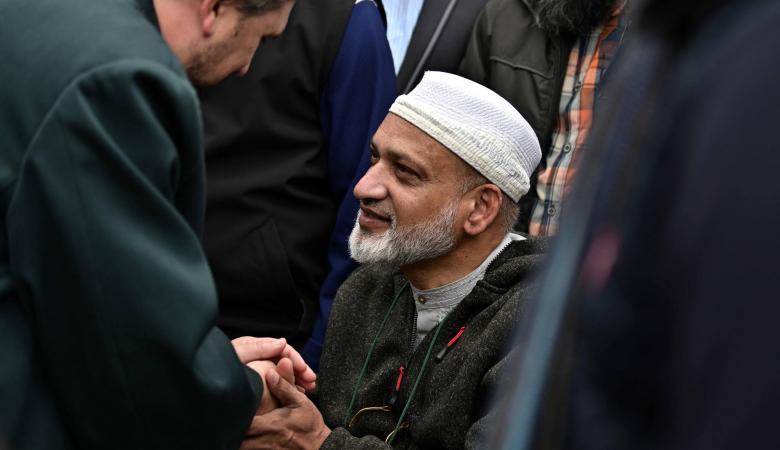 زوج احدى ضحايا هجوم نيوزيلندا الارهابي يسامح المنفذ