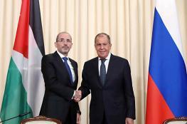الأردن وروسيا: متمسكون بمبدأ حل الدولتين