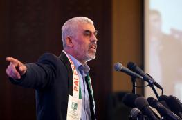 السنوار : المقاومة ستواصل مراكمة القوة لتحرير فلسطين