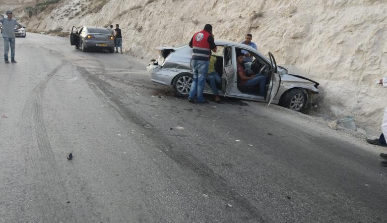 مصرع مواطنين واصابة 190 آخرين في حوادث سير بالضفة الغريبة الاسبوع الماضي