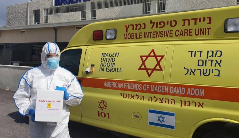 """17 وفاة و1285 إصابة جديدة بفيروس """"كورونا"""" في """"إسرائيل"""""""