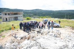 قوات الاحتلال تهدم منازل في قرية جبارة جنوب طولكرم