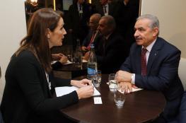 اشتيه يطالب سويسرا وبلجيكا  للإسراع بالاعتراف بفلسطين
