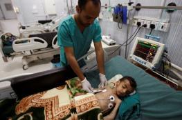 124 ألف حالة اشتباه بالإصابة بالكوليرا نصفها من الأطفال فى اليمن