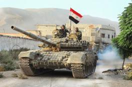 النظام السوري سيطر بشكل كامل على الغوطة الشرقية قرب دمشق