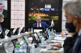 رام الله : مجلس الوزراء يتخذ سلسلة من القرارات