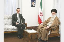 الأسد يشكر خامنئي على الجهود الايرانية في محاربة الارهاب في سوريا