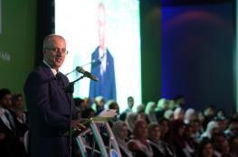 الحمد الله: نجاحنا وإصرارنا أقوى من التحريض والهدم والحصار الذي تطوقنا به إسرائيل