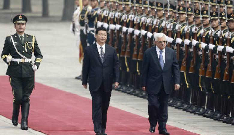 الرئيس يهنئ الرئيس الصيني بالانتصار على فيروس كورونا