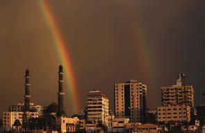 غزة في ظل الاجواء الماطرة