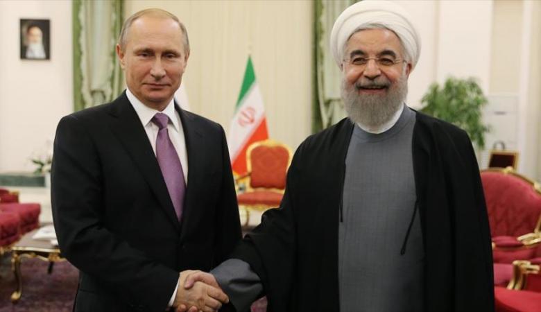 بوتين يعتزي روحاني  في ضحايا الطائرة الإيرانية المنكوبة