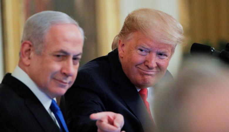 شاهد: ترامب ينشر خريطة يقول إنها لدولة فلسطين المستقبلية