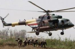 سقوط مروحية عسكرية في بغداد ومقتل 9 عسكريين