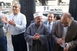وفد وزارة الأوقاف برئاسة ادعيس يصل إلى غزة لإكمال عملية الاستلام