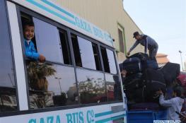 غزة : توقعات باعادة فتح معبر رفح مع مصر