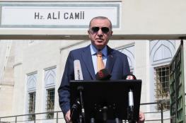 """أردوغان غاضب من استقالة رئيس الوزراء الليبي """"السراج """""""