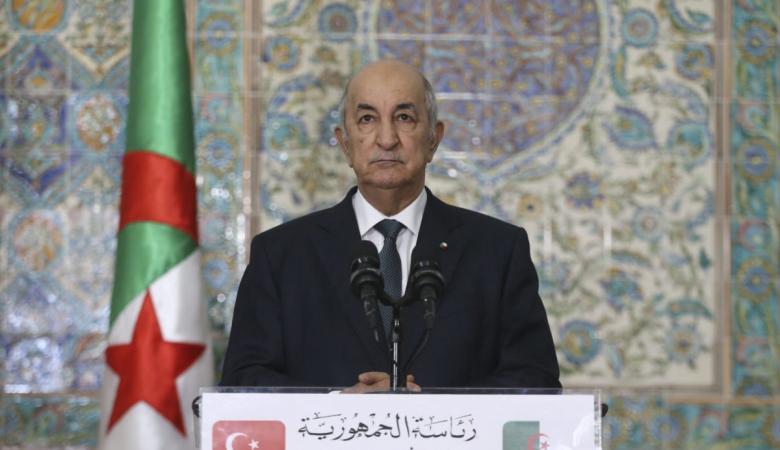 الرئيس الجزائري : لا سلام مع تل أبيب ولن نبارك التطبيع