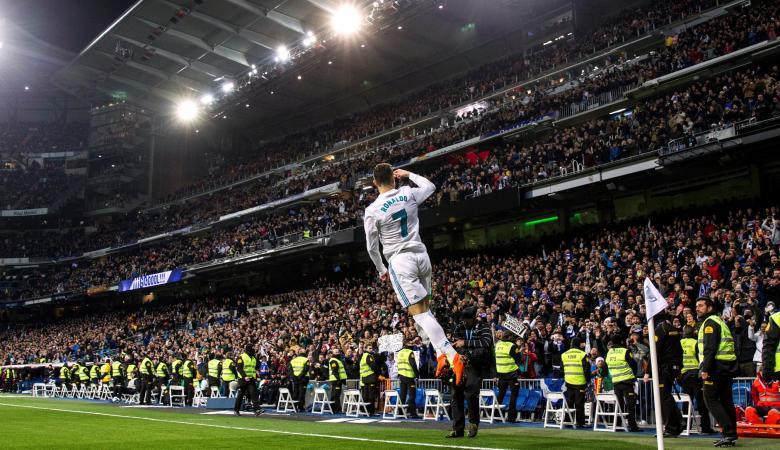 رونالدو يحرز سوبرهاتريك في فوز كبير لريال مدريد بالدوري الاسباني
