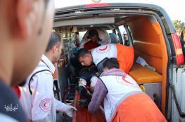 46 اصابة خلال مواجهات مع الاحتلال في مسيرات العودة