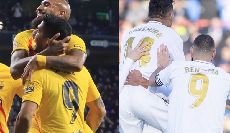 تعادل لبرشلونة وفوز ريال مدريد في الدوري الإسباني