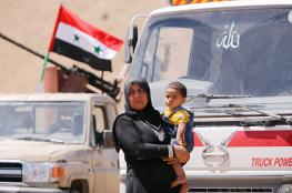 1300 لاجئ سوري يعودون الى بلدهم خلال الساعات الماضية