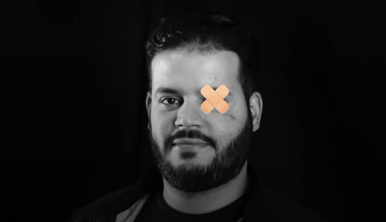 اطلاق حملة (#عين_عطية) للتضامن مع الصحفي عطية درويش