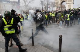 فرنسا: 31 ألف متظاهر شاركوا في احتجاجات اليوم واعتقال 700