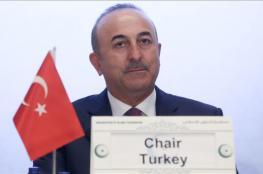 تركيا : على العالم الاسلامي دعم فلسطين بالافعال لا بالاقوال