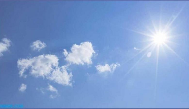 حالة الطقس: درجات الحرارة أدنى من معدلها بحدود درجتين