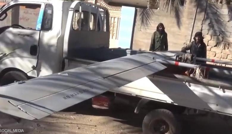 داعش تسقط طائرة أمريكية مسيرة