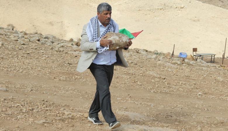 """عساف يكشف عن خطة جديدة لتعزيز صمود المواطنين في مناطق """" ج """""""