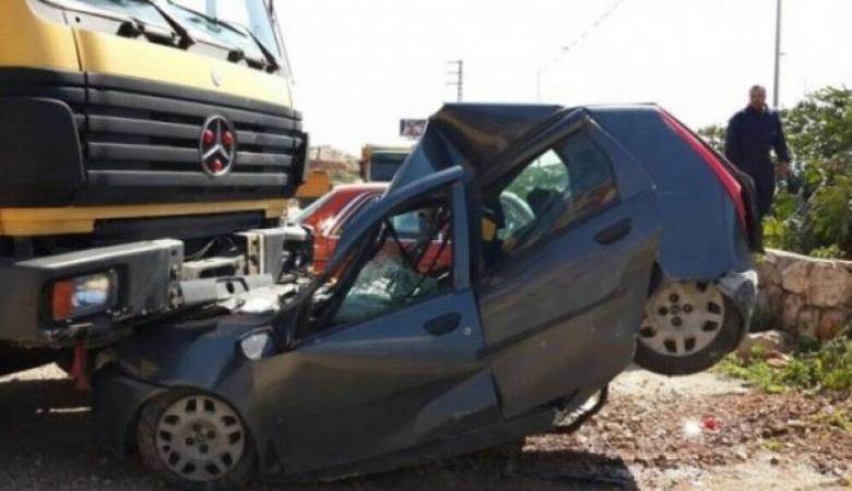 96 حالة وفاة و8000 إصابة بحوادث السير في الضفة
