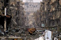 داعش يهرب من دير الزور ويترك خلفه الأسلحة والمعدات