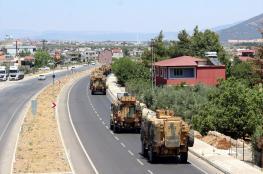 تركيا  : الجيش سيدخل سوريا بعد لحظات
