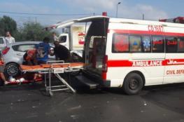 وفاة مُسن وإصابة آخرين بحادثي سير في غزة