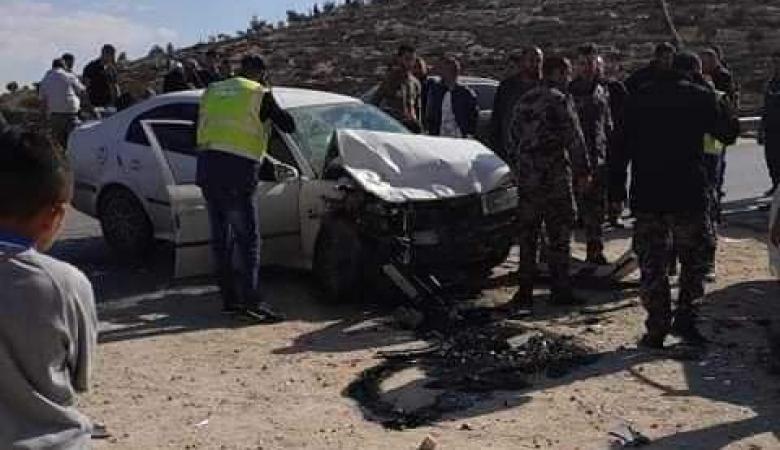 خمس اصابات بينها خطيرة في حادث سير مروع جنوب الخليل