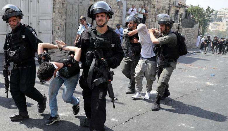 قوات الاحتلال تشن حملة اعتقالات واسعة بالقدس