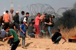 اصابة 3 شبان برصاص الاحتلال شرق مدينة غزة