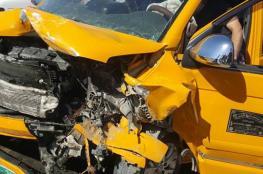 """10 اصابات بحادث سير مروع جنوب غرب جنين """"صور """""""