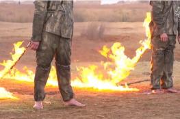 """داعش يحرق جنديين تركيين في مدينة الباب السورية """"صور """""""