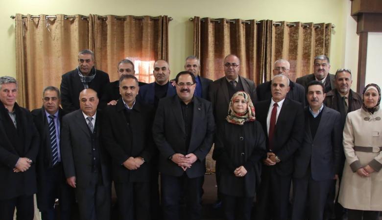 وزير التربية: علينا بذل جهود أكبر لحصد الإنجازات التربوية لفلسطين في  2017