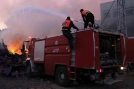 إصابة 6 مواطنين بحريق في خان يونس ومواطن بصعقة كهربائية في غزة