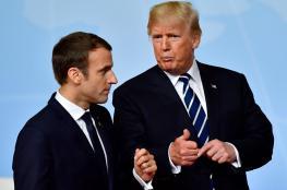 الرئيس الفرنسي: أقنعت ترامب ببقاء قواته في سوريا.. والبيت الأبيض يكذبه
