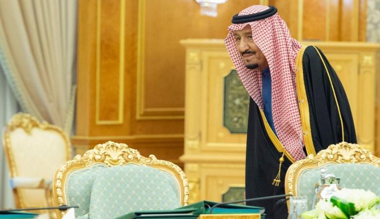 العاهل السعودي : سنواصل دعم الفلسطينيين لاقامة دولتهم