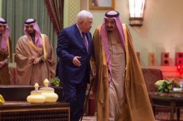 مباحثات بين الرئيس والملك سلمان في الرياض