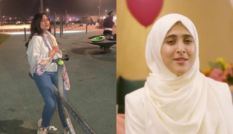"""نجمة """"طيور الجنة"""" تخلع الحجاب وتهاجم زوجة مدير القناة"""