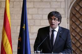 إصدار مذكرة توقيف بحق الرئيس الكتالوني المقال و4 من وزرائه