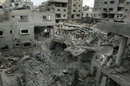 أبو حسنة ينفي وقف دفع بدل إيجار للعائلات التي دمرت منازلها بحرب غزة