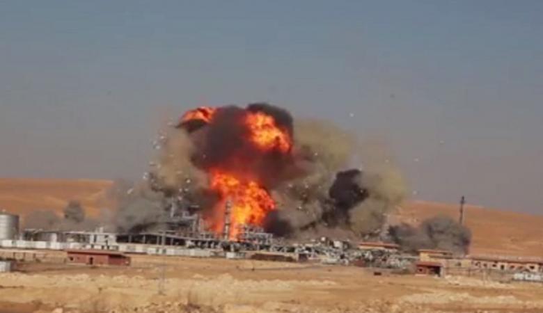 داعش يدمر أكبر حقل للغاز في سوريا منذ اندلاع الازمة
